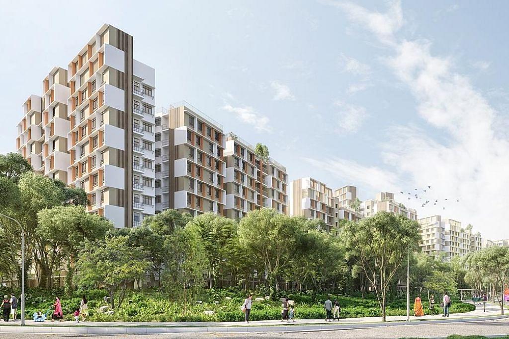 HDB lancar lebih 7,000 flat baru di Tengah, estet matang