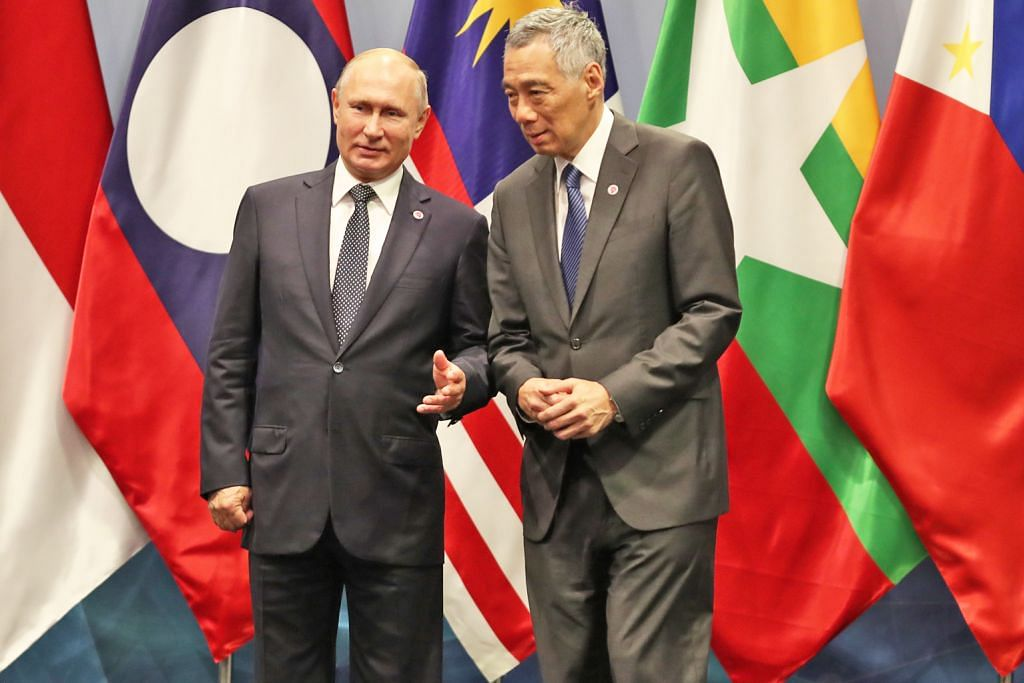 S'pura, Russia pererat hubungan