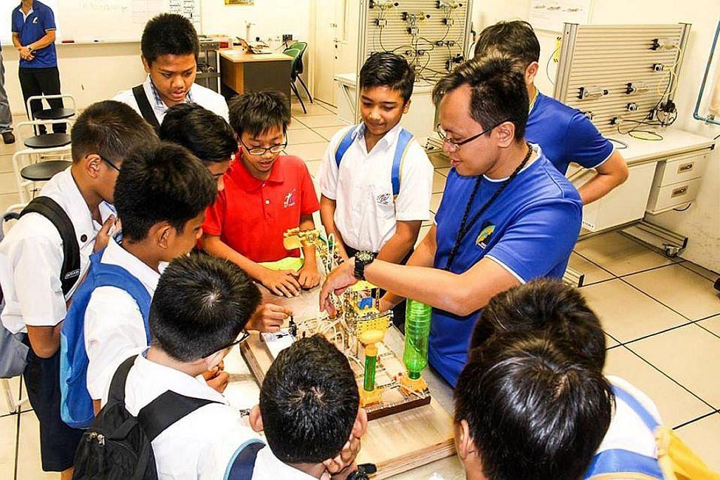 Pelajar sekolah khas NT boleh cuba modul asas ITE