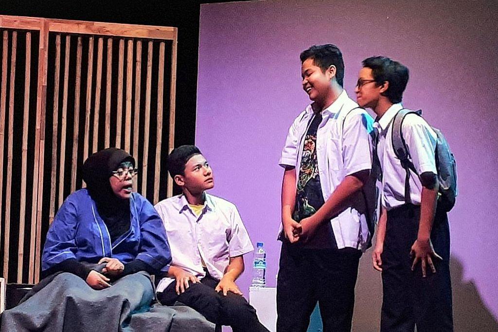 Drama bentuk yakin diri pelajar