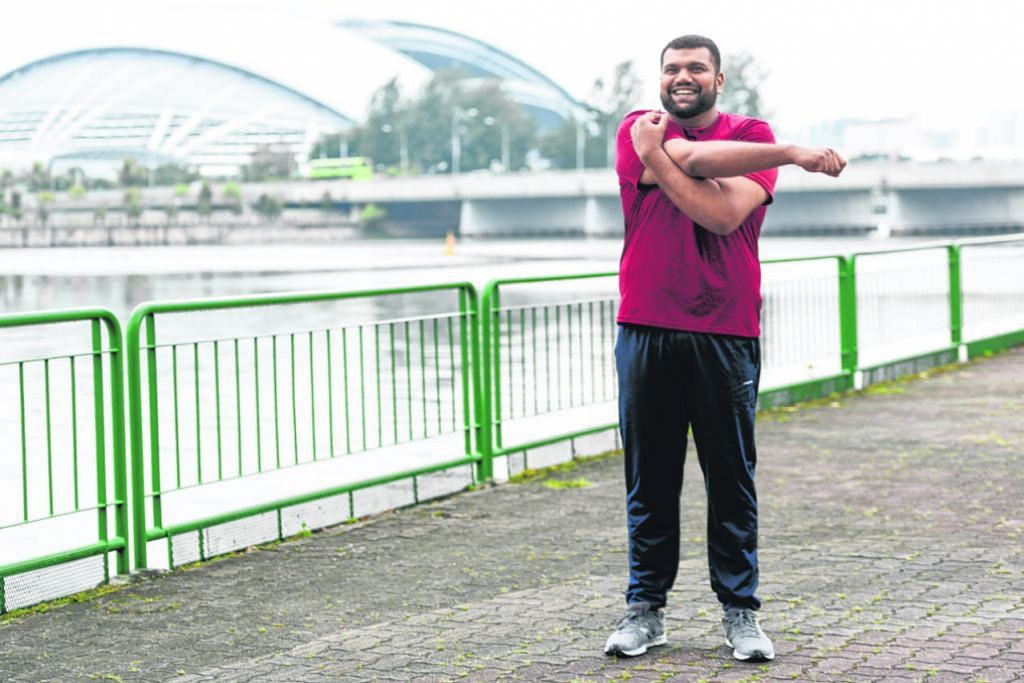 Berat badan turun 30kg dalam empat bulan