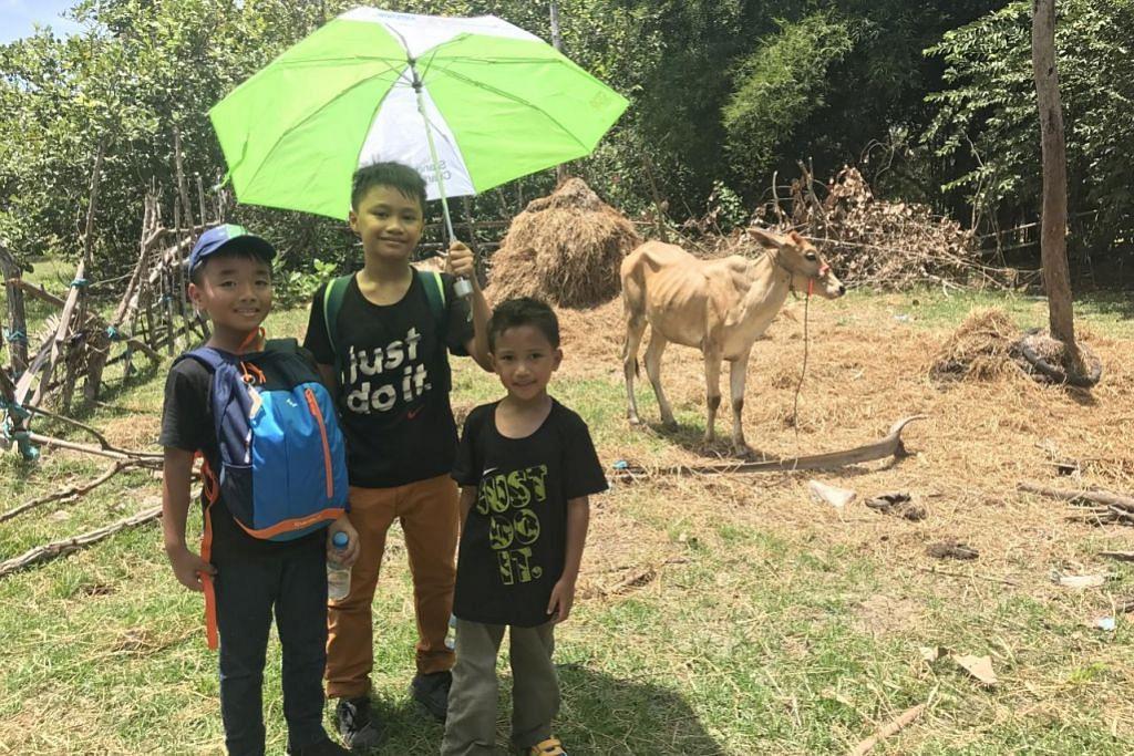 Pengalaman tiga cucu saksi ibadah korban di Kemboja