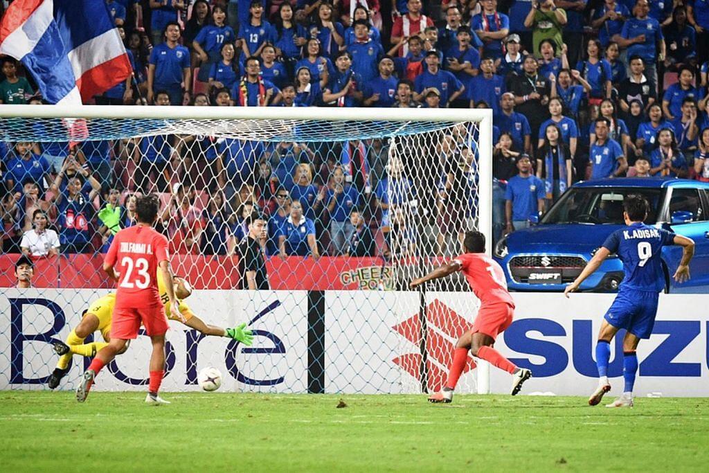 PIALA AFF SUZUKI Fandi akur Thai gagah, namun Singa bermain penuh juang