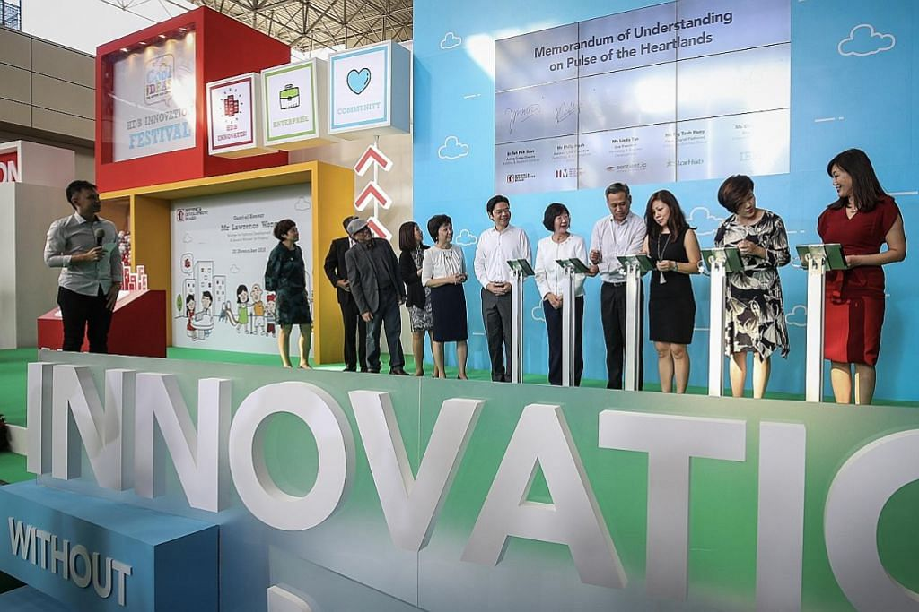 HURAIAN INOVATIF Pesta inovasi HDB papar huraian kreatif perbaiki hidup