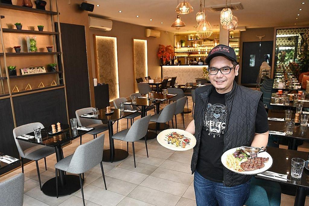 Selepas strok, Cef Amri bangkit kendali restoran