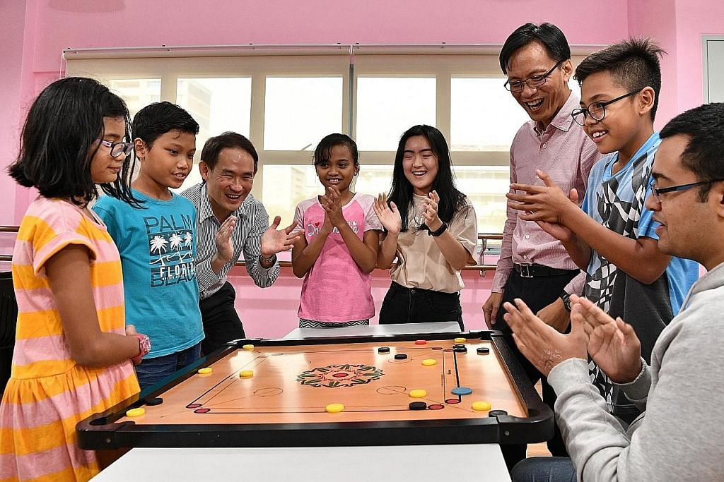 Program unik temukan mentor belia dengan pelajar muda di kelab masyarakat