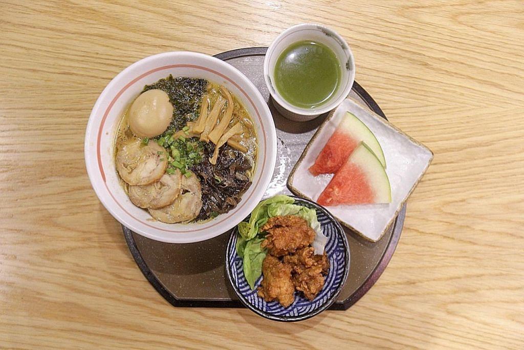 Restoran tawar ramen, nasi Jepun asli halal