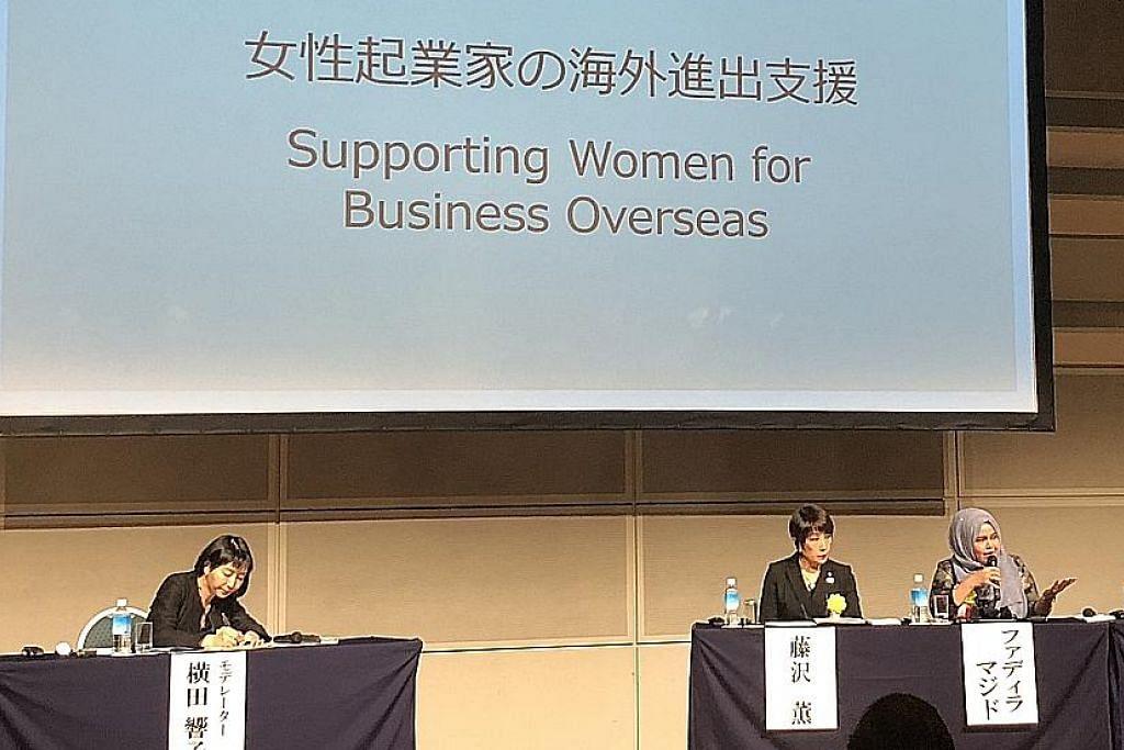 Peluang perkukuh rangkaian dengan peniaga wanita di Jepun
