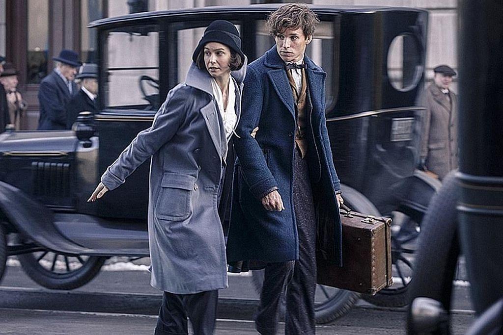 Selesa berlakon dalam filem fantasi penulis Harry Potter