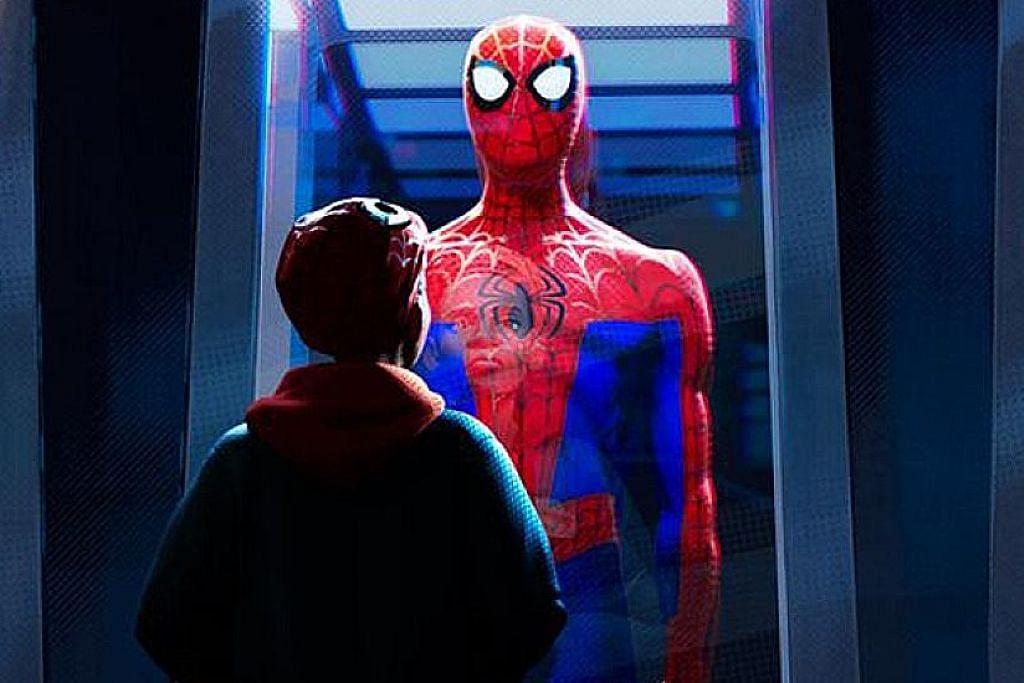 Bermacam Spider-Man satu hati tumpaskan musuh