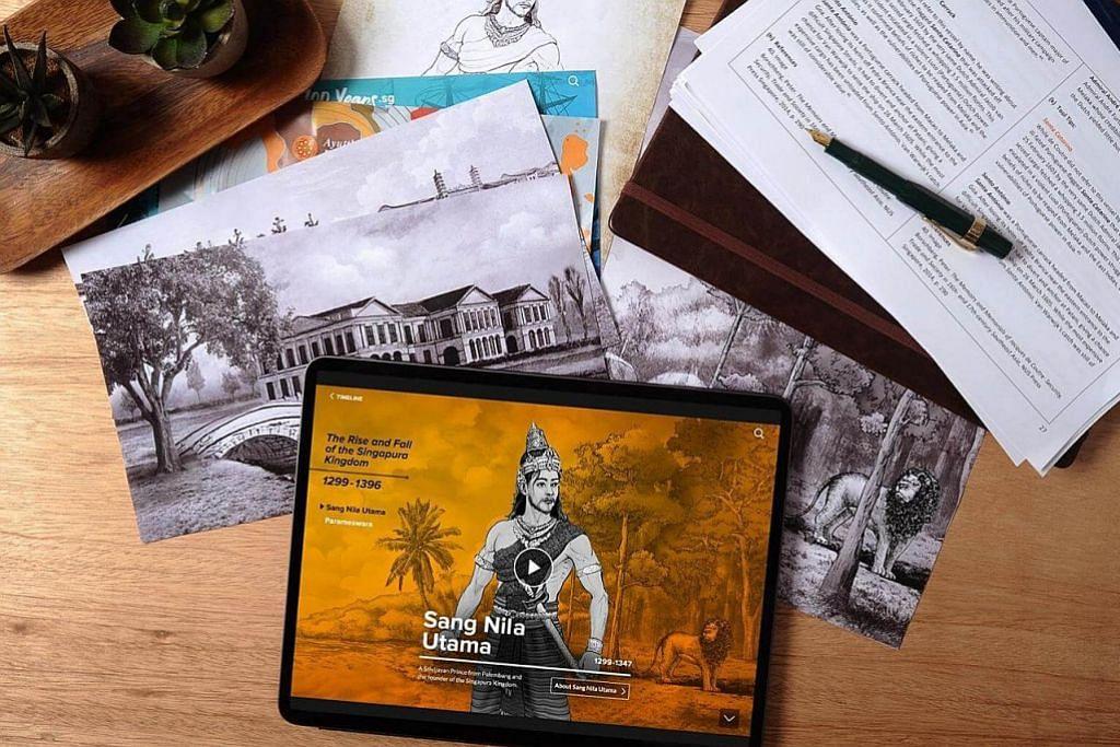 Susuri sejarah 700 tahun Kota Singa