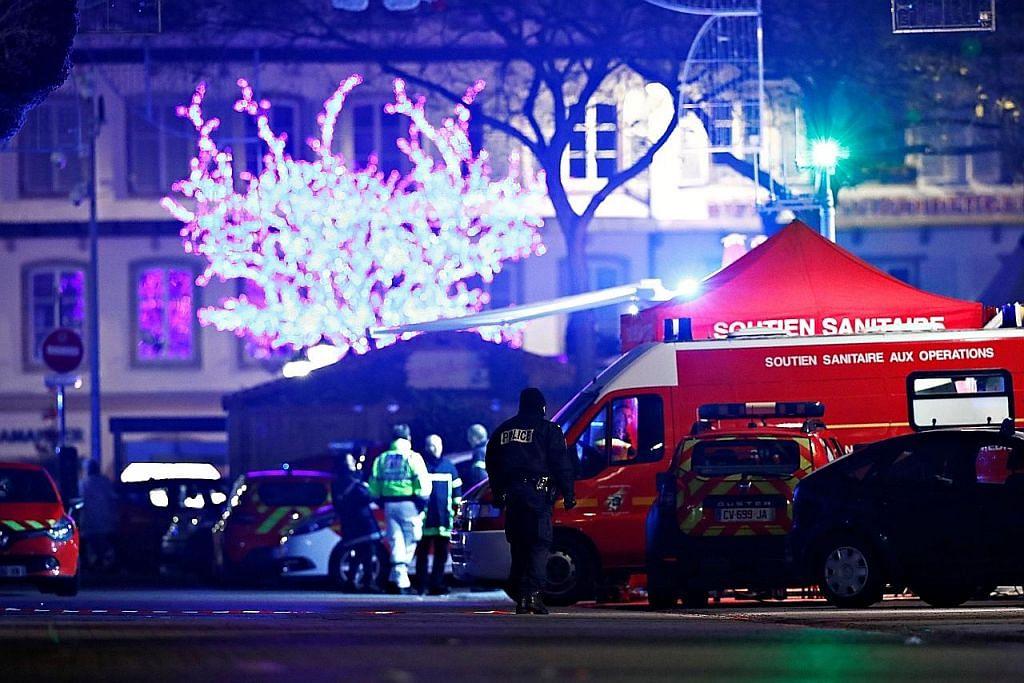 Empat maut dalam serangan ganas di Perancis