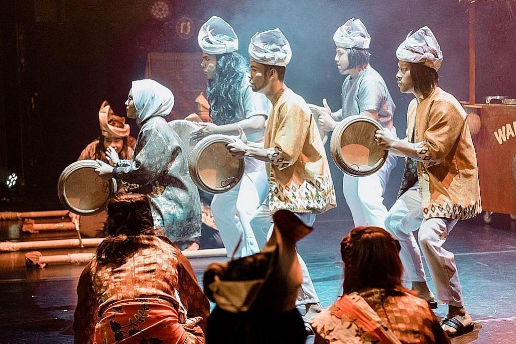 Nadi Singapura persembah acara bagi galak karya seni tempatan