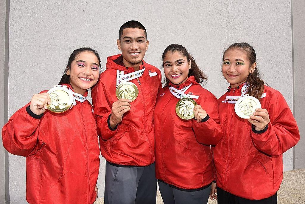 Emas bagi 4 pesilat S'pura di hari pertama kejohanan dunia