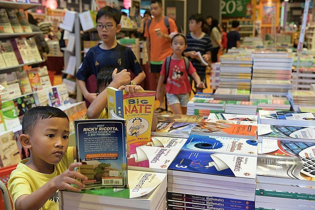 500,000 pengunjung dijangka ke pesta buku di Suntec