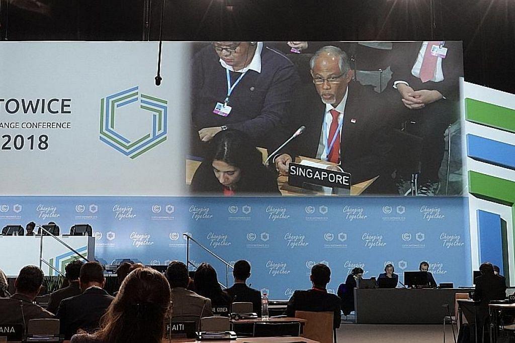 Masagos: Cukai karbon langkah penting dalam strategi iklim S'pura