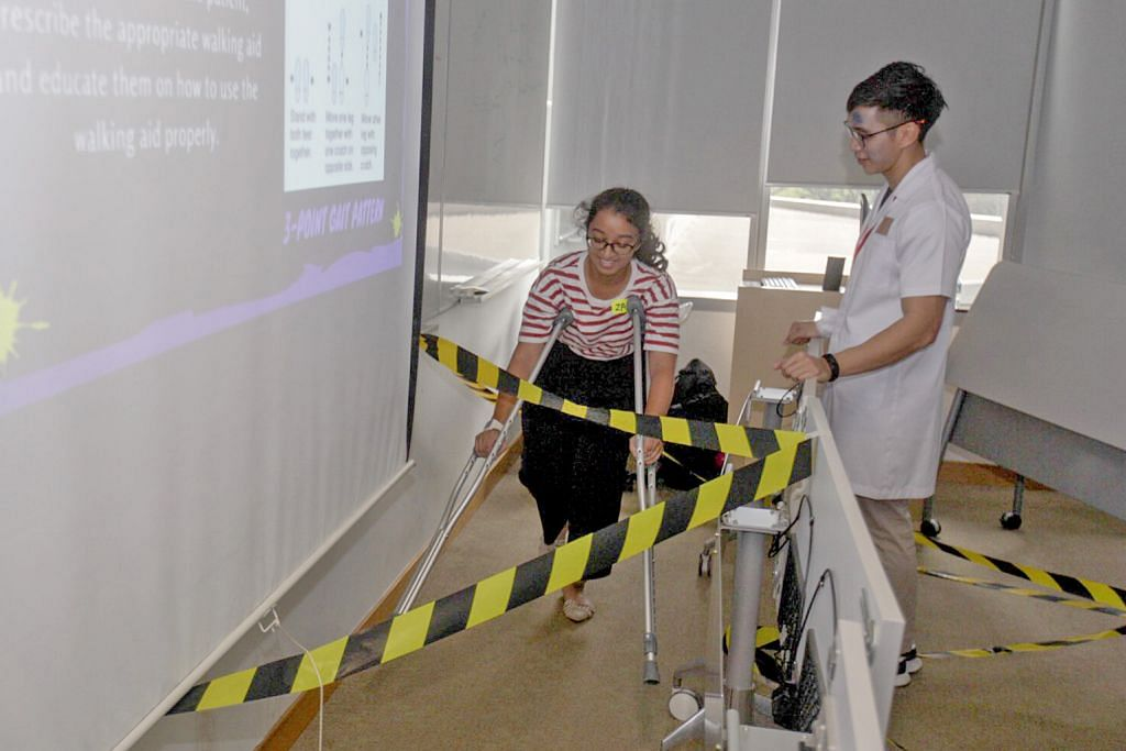 Pelajar ghairah hayati bidang fisioterapi yang diminati sejak kecil