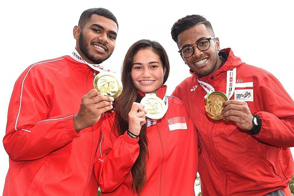 Silat Singapura catat rekod, raih tujuh pingat emas