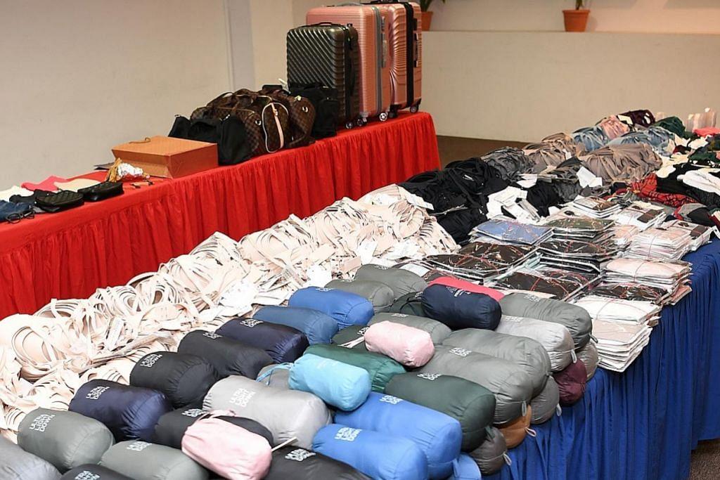 Anggota sindiket Vietnam dijel curi barang hampir $45,000