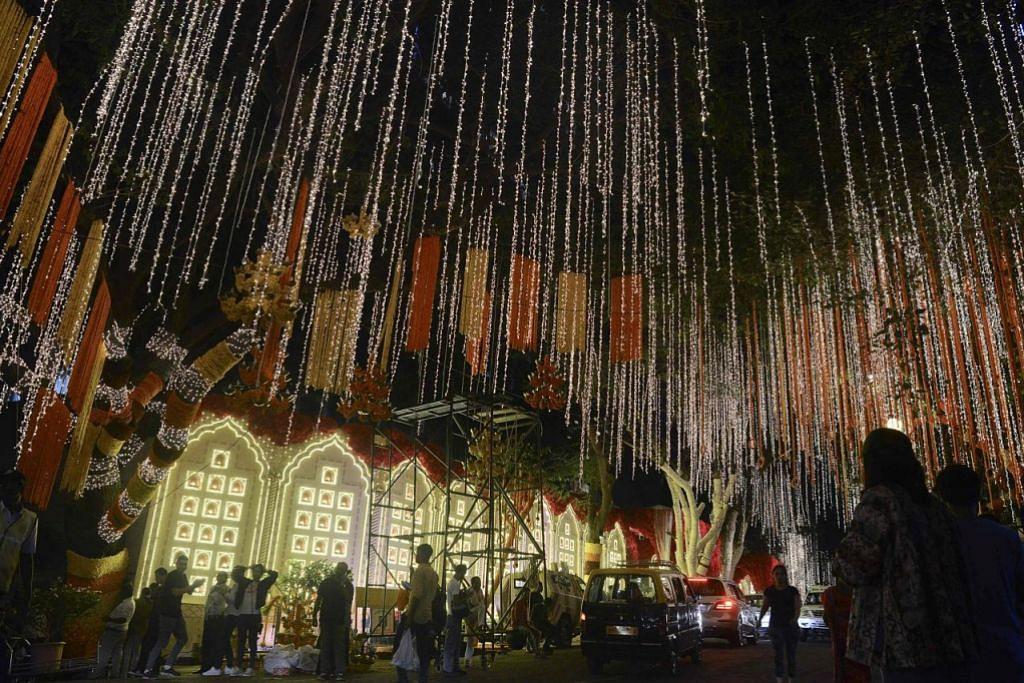 Majlis kahwin keluarga terkaya di India bernilai AS$100 juta