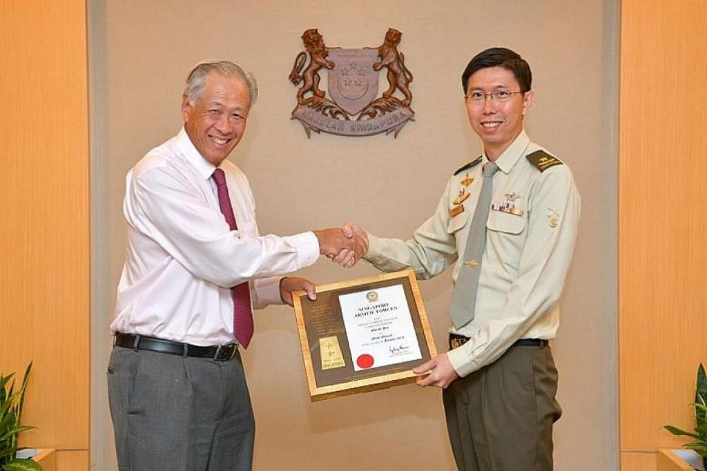 Panglima Tentera Darat Goh Si Hou naik pangkat selaku Mejar Jeneral mulai 1 Jan