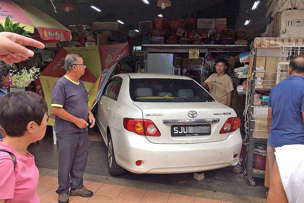 Naib pengetua sekolah dipenjara rempuh kereta di pasar