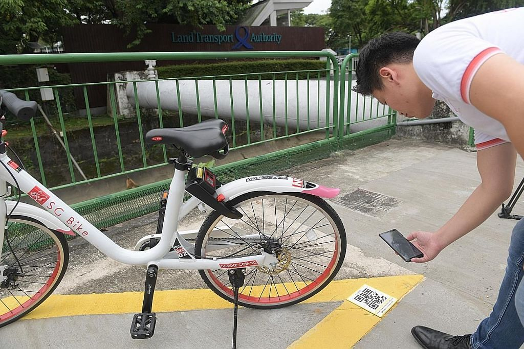Denda $5 jika gagal letak basikal, imbas kod QR di tempat ditetapkan