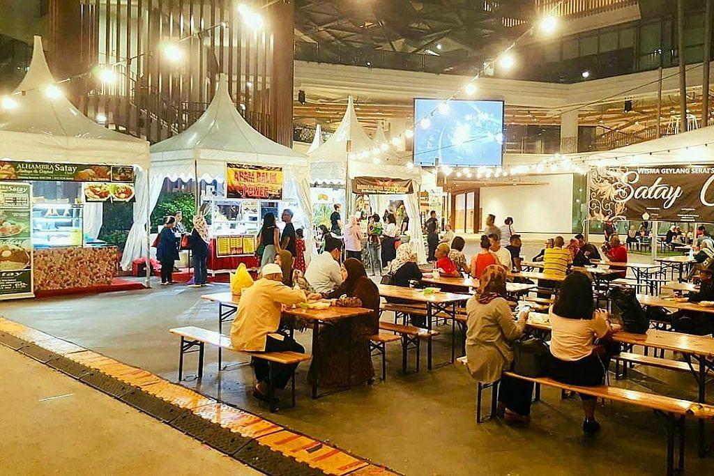 Wisma Geylang Serai kembalikan zaman kegemilangan Satay Club