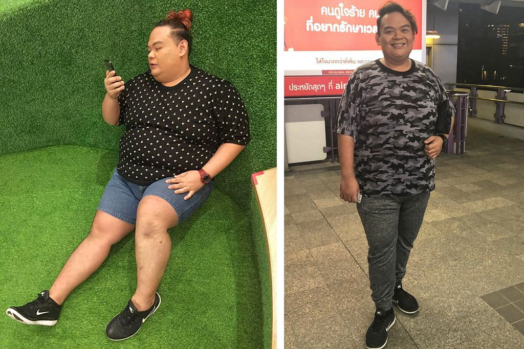 Dah turun 45 kg... tahun depan cuba-cuba 50 kg pula!