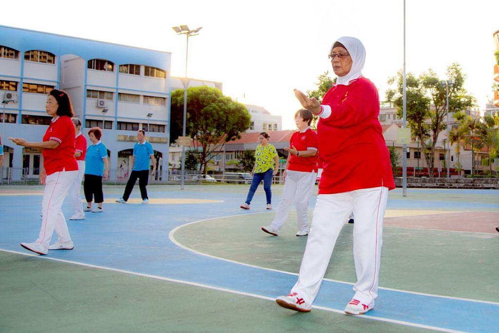 Sertai 'qigong' berbaloi - tubuh sihat, raih pingat emas dalam pertandingan