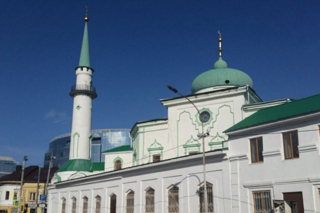 TERSERGAM INDAH: Masjid Nurullah di sekitar kediaman orang-orang Islam di Kazan. - Foto ihsan ROHAIDA KARIM