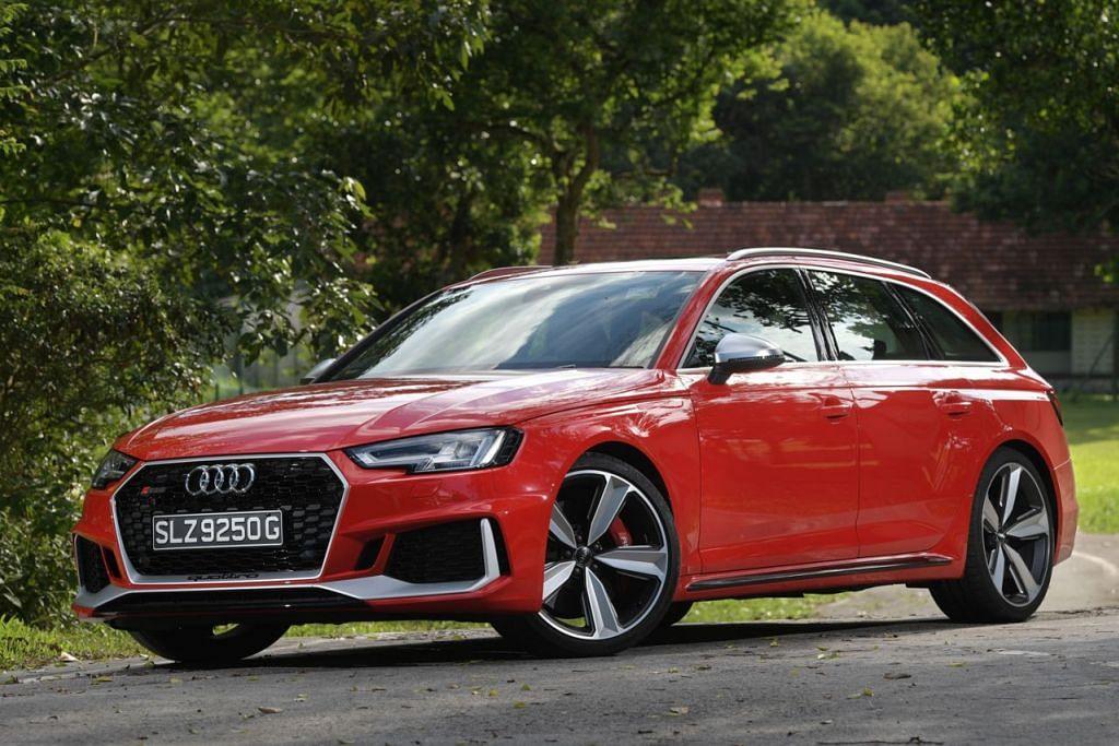 AUDI RS AVANT: Ditawarkan sebagai Avant (wagon), kereta berprestasi tinggi jenama Audi ini menggabungkan praktikaliti dengan keseronokan. - Foto fail