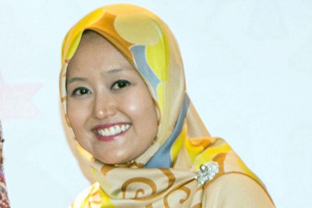 Anggota Parlimen GRC Jurong Cik Rahayu Mahzam