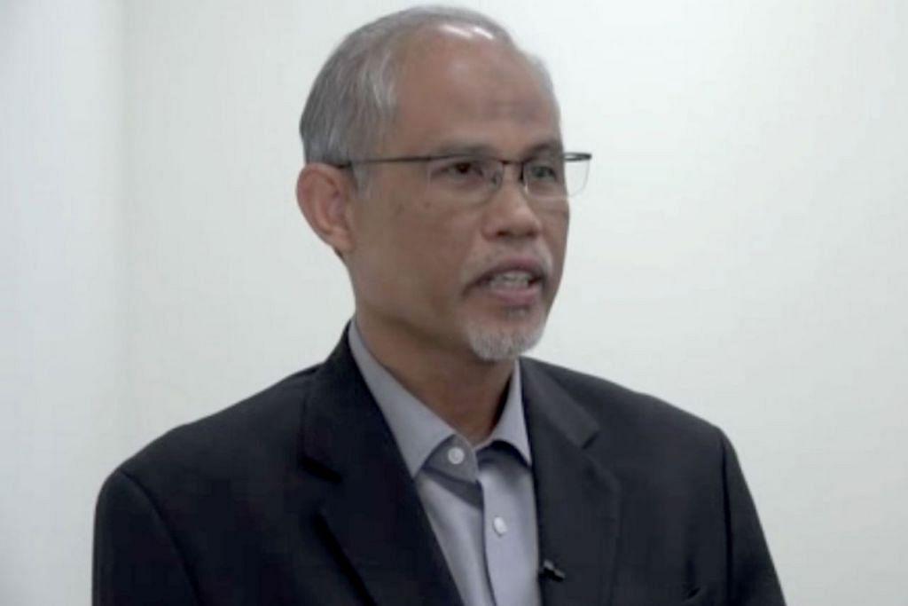 Menteri Bertanggungjawab Bagi Ehwal Masyarakat Islam, Encik Masagos Zulkifli Masagos Mohamad (gambar atas). -  Foto melalui tangkap layar video