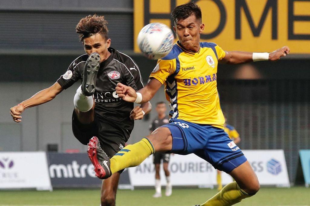 SAINGAN SENGIT MENANTI: Pasukan seperti Home United dan Tampines Rovers mahu memberikan persembahan lebih sengit dan hebat bagi musim SPL baru ini.