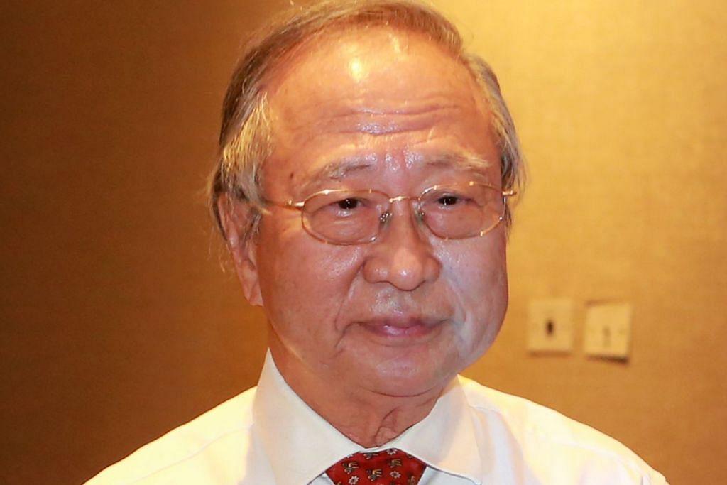 Dr Tan Cheng Bock - Foto fail