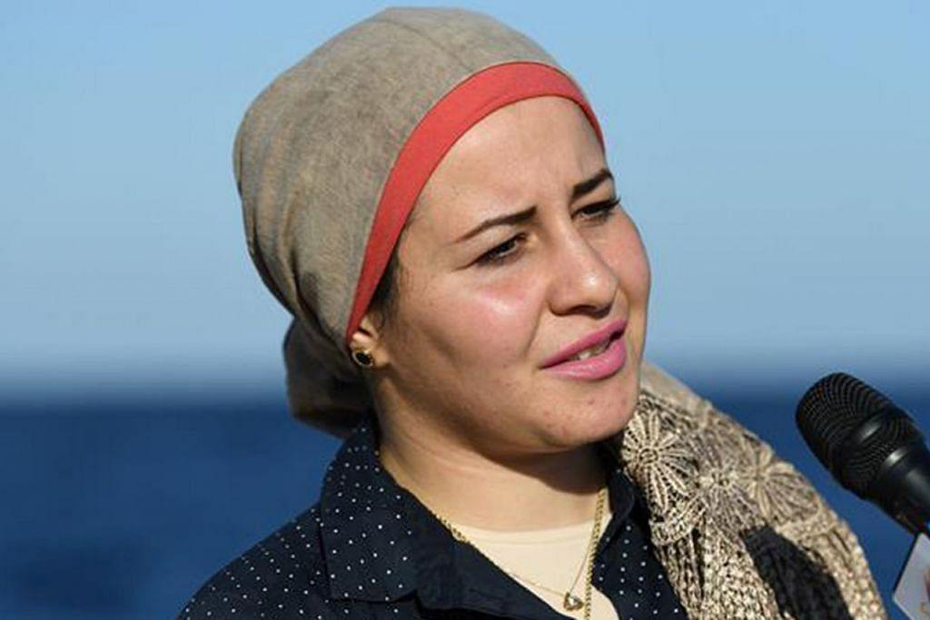CIK BASSAND AL-BESTAWI: Bekerja sebagai jurutera petroleum dan perlombongan dan kimpalan bawah laut dan pengajar menyelam komersial. Wanita Mesir ini dipercayai wanita pertama yang bekerja dalam bidang tersebut di Timur Tengah. - Foto FACEBOOK BASSAND AL-BESTAW, AL-AHRAM WEEKLY