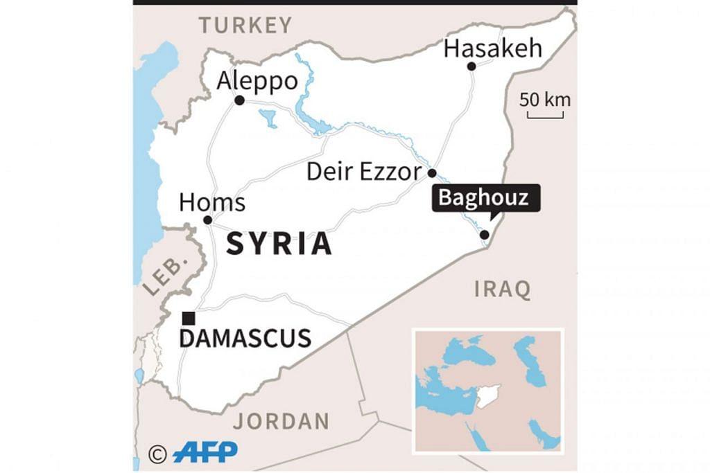 Peta Syria