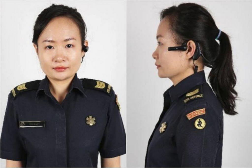 Kamera di telinga ini akan dilancarkan secara progresif kepada semua paramedik menjelang 2020.