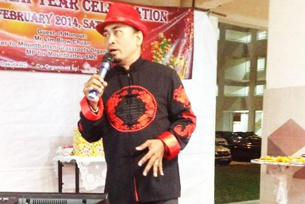 AKTIF MENGACARA: Encik Mohamed Zailani Mohamed Said aktif menjadi hos bagi acara masyarakat Cina sehingga diberi nama Cina, 'Cai Na Li'. – Foto ihsan ZAILANI MOHAMED SAID