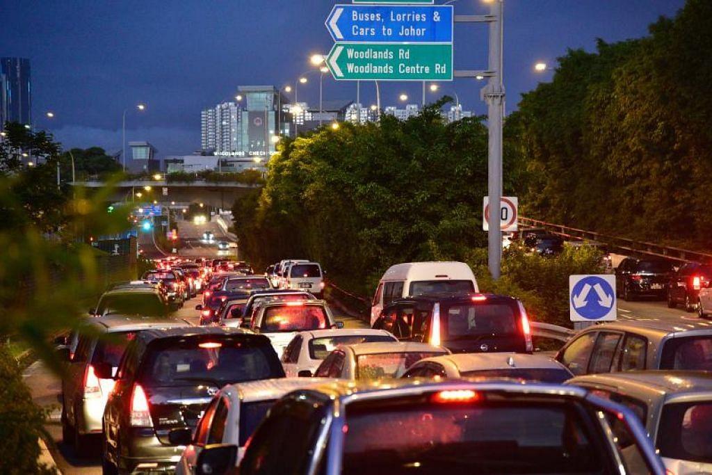 Kenderaan asing dengan denda tertunggak bagi kesalahan trafik, letak kenderaan atau pengeluaran asap boleh dilarang masuk ke Singapura mulai 1 April.