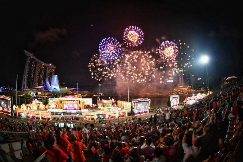 Fireworks galore kick off 2019 edition of River Hongbao