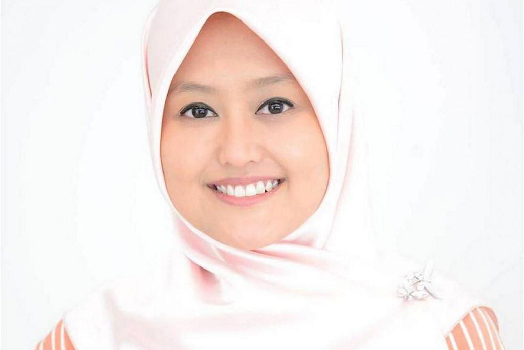 Cik Rahayu Mahzam (GRC Jurong).