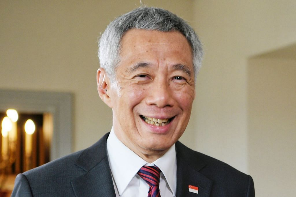 Perdana Menteri Lee Hsien Loong..