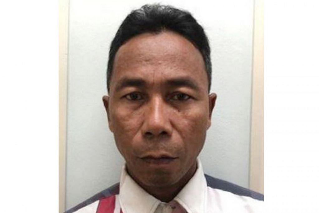 PASPORT DIUBAH: Marsari memasuki Singapura dari Batam pada 14 Februari lalu dan ditahan pegawai Penguasa Imigresen dan Pusat Pemeriksaan (ICA) kerana dipercayai menggunakan pasport yang diubah. - Foto CPIB