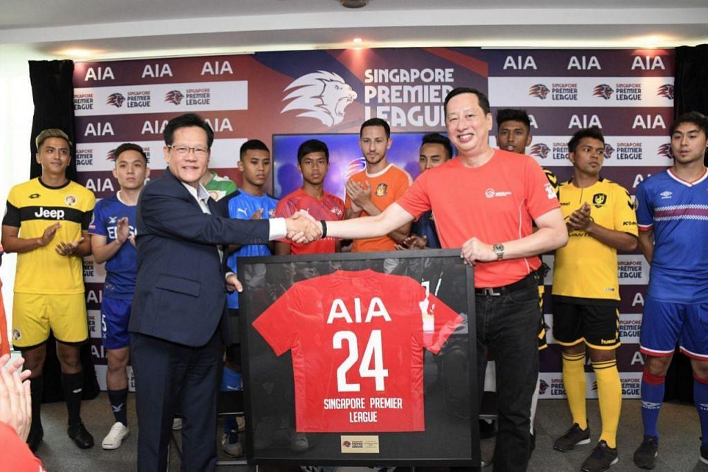 AIA singapore official sponsor of Singapore Premier League 2019