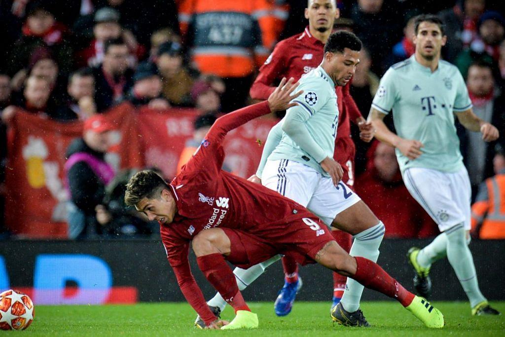 PELUANG KEMBALI MENYENGAT: Liverpool yang hambar semasa menentang Bayern Munich dalam Liga Juara-Juara dijangka hebat semula. – Foto fail EPA-EFE