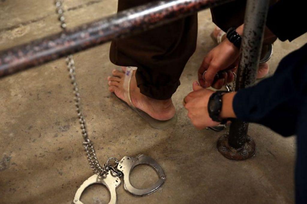 Lebih ramai orang berusia 60 tahun ke atas dimasukkan ke penjara atau Pusat Pemulihan Dadah tahun lalu.