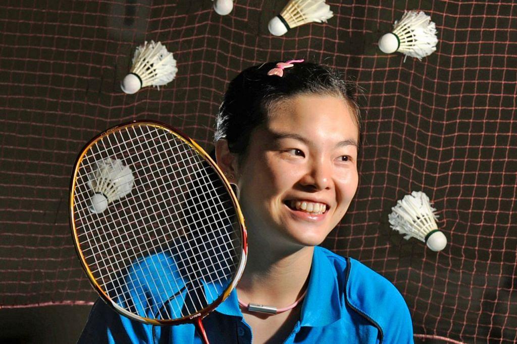 Fu Mingtian - badminton