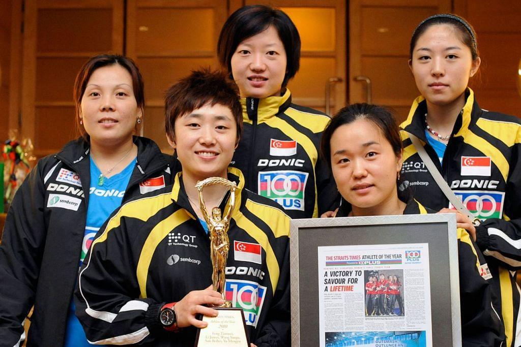 Pasukan wanita tenis meja